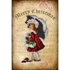 """Набор для вышивания бисером Краса і Творчість 51114 """"Рождественские истории 5"""""""
