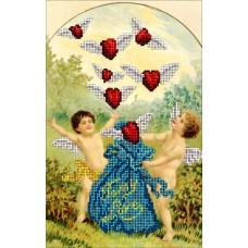 """Набор для вышивания бисером Краса і Творчість 60115 """"День Св.Валентина 6"""""""