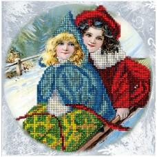"""Набор для вышивания бисером Краса і Творчість 60915 """"Рождественские истории 16"""""""