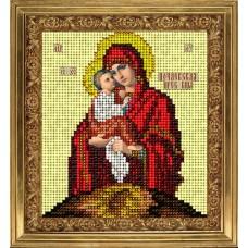 """Набор для вышивания бисером Краса і Творчість 61113 """"Почаевская икона"""""""
