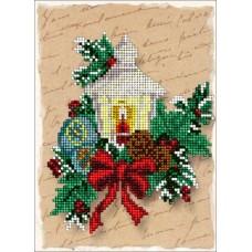 """Набор для вышивания бисером Краса і Творчість 61114 """"Рождественские истории 6"""""""