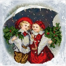"""Набор для вышивания бисером Краса і Творчість 70915 """"Рождественские истории 17"""""""