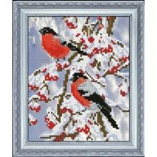 "Набор для вышивания крестиком Краса і Творчість 71015 ""Вестники зимы 2"""
