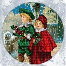 """Набор для вышивания бисером Краса і Творчість 71114 """"Рождественские истории 7"""""""