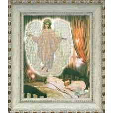 """Набор для вышивания бисером Краса і Творчість 71211 """"Ангел сна"""""""