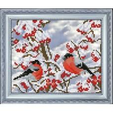 "Набор для вышивания крестиком Краса і Творчість 81015 ""Вестники зимы 3"""