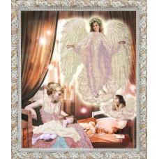 """Набор для вышивания бисером Краса і Творчість 81211 """"Ангел сна"""""""