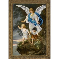 "Набор для вышивания бисером Краса і Творчість 90715 ""Ангел хранитель 1"""