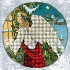"""Набор для вышивания бисером Краса і Творчість 91114 """"Рождественские истории 9"""""""