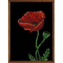 """Набор для вышивки бисером Кроше В-138 """"Аленький цветочек"""""""