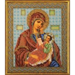 """Набор для вышивки бисером Кроше В-158 """"Богородица Утоли Мои Печали"""""""