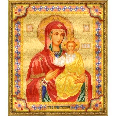 """Набор для вышивки бисером Кроше В-163 """"Смоленская Богородица"""""""