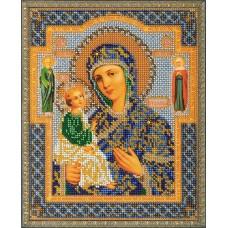 """Набор для вышивки бисером Кроше В-164 """"Богородица Иерусалимская"""""""