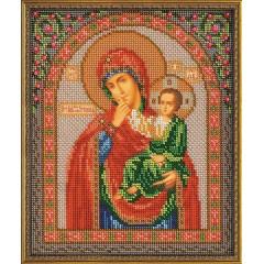"""Набор для вышивки бисером Кроше В-166 """"Богородица Отрада и Утешение"""""""