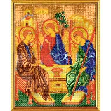 """Набор для вышивки бисером Кроше В-167 """"Святая Троица"""""""