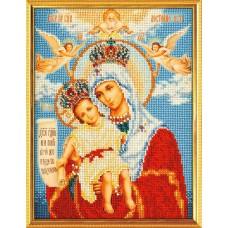 """Набор для вышивки бисером Кроше В-168 """"Богородица Милующая"""""""
