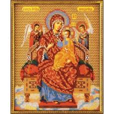 """Набор для вышивки бисером Кроше В-172 """"Богородица Всецарица"""""""