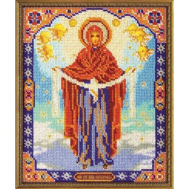 """Набор для вышивки бисером Кроше В-174 """"Богородица Покрова"""""""