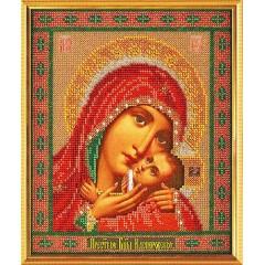 """Набор для вышивки бисером Кроше В-183 """"Богородица Касперовская"""""""