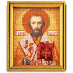 """Набор для вышивки бисером Кроше В-347 """"Св.Иоанн Златоуст"""""""