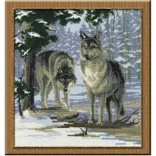 """Набор для вышивки Риолис 271 """"Волки"""""""