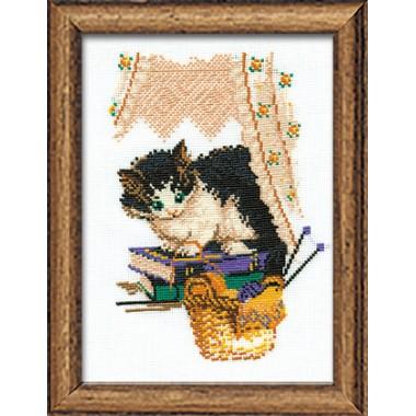 """Набор для вышивки Риолис 379 """"Кошка"""""""