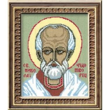 "Набор для вышивки крестом Риолис 443 ""Св. Николай Чудотворец"""
