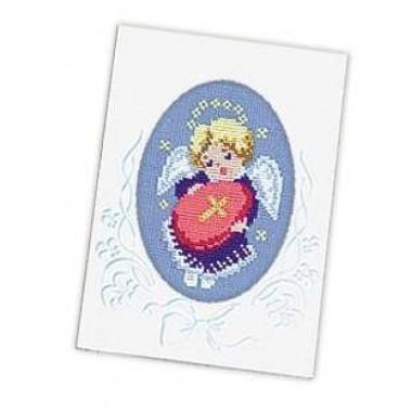 Набор для вышивки Риолис 445 Открытка Ангелочек