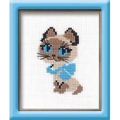 """Набор для вышивки Риолис 462 """"Котёнок"""""""
