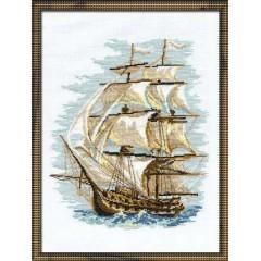 """Набор для вышивки крестом Риолис 479 """"Корабль"""""""
