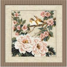 """Набор для вышивки Риолис 486 """"Китайские мотивы. Весна"""""""