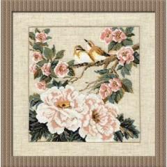 """Набор для вышивки крестом Риолис 486 """"Китайские мотивы. Весна"""""""