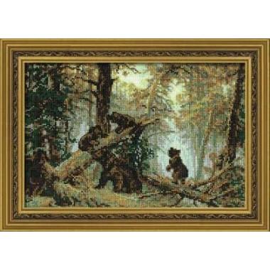 """Набор для вышивки Риолис 536 """"Утро в сосновом лесу"""""""
