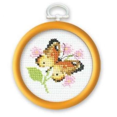 """Набор для вышивки Риолис 647 """"Бабочка"""""""