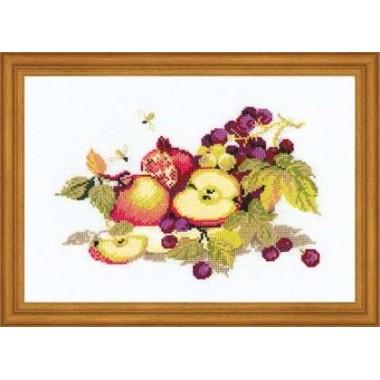 """Набор для вышивки Риолис 759 """"Натюрморт с яблоками"""""""