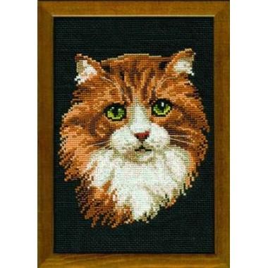 """Набор для вышивки Риолис 765 """"Рыжая кошка"""""""