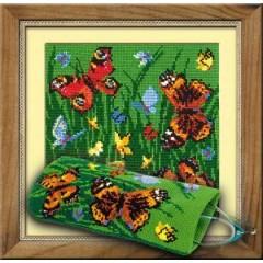 """Набор для вышивки Риолис 774 Очечник """"Бабочки"""""""