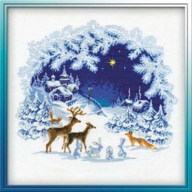 """Набор для вышивки Риолис 793 """"Рождество"""""""