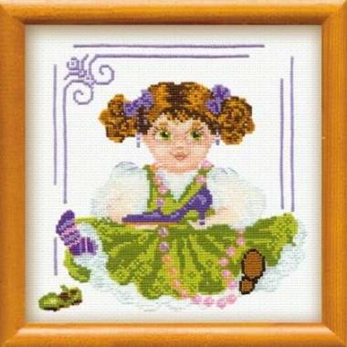 """Набор для вышивки Риолис 803 """"Кукла с туфелькой"""""""