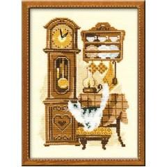 """Набор для вышивки крестом Риолис 858 """"Часы"""""""