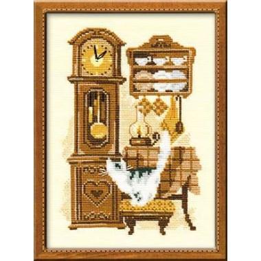 """Набор для вышивки Риолис 858 """"Часы"""""""