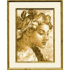 """Набор для вышивки Риолис 880 """"Юноша эпохи Возрождения"""""""