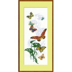 """Набор для вышивки крестом Риолис 903 """"Экзотические бабочки"""""""