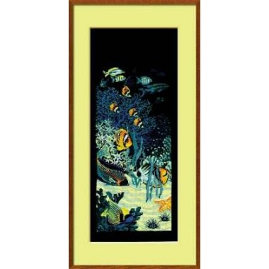 """Набор для вышивки Риолис 915 """"Подводный мир"""""""