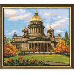 """Набор для вышивки Риолис 923 """"Исаакиевский собор"""""""
