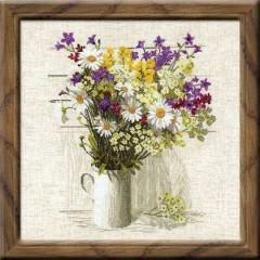 """Набор для вышивки Риолис 924 """"Полевые цветы"""""""