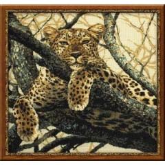 """Набор для вышивки крестом Риолис 937 """"Леопард"""""""