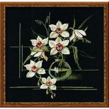 """Набор для вышивки крестом Риолис 941 """"Орхидеи"""""""