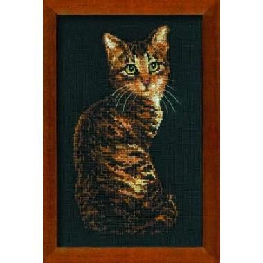 """Набор для вышивки Риолис 946 """"Кошка"""""""