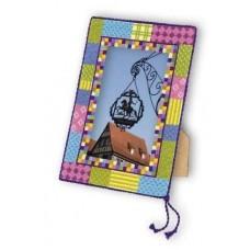 Набор для вышивки Риолис 969 Рамка в стиле пэчворк